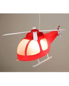 Helicopter Light Shade - Red