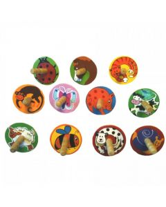 Animal Spinning Top - Assorted Designs