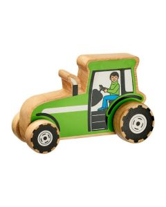 Chunky Wooden Wheely Tractor