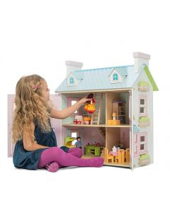 Mayberry Manor Furnished Dolls House BUNDLE