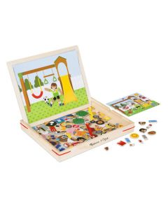 Wooden Magnetic Matching Picture