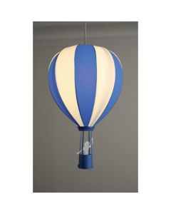 Hot Air Balloon Ceiling Light - Navy Blue