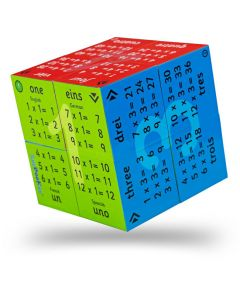 Multiplication Table Cube Book
