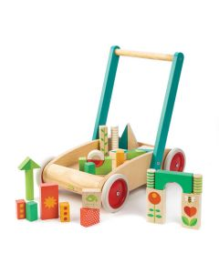 Tenderleaf Toys Baby Walker with Blocks