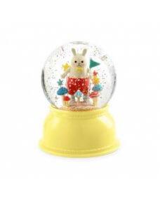 Djeco Glitter Globe Night Light - Rabbit