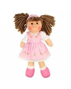 28cm Rag Doll - Rose