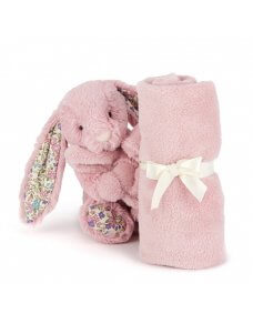 Bashful Blossom Tulip Pink Bunny Soother