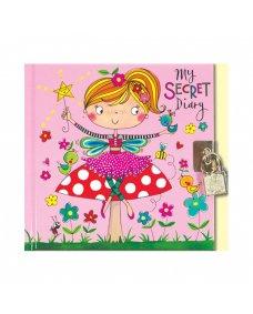 Secret Diary - Fairy on Toadstool