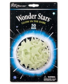 Glowing Wonder Stars - 50 pack
