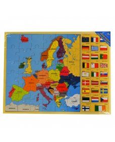 Europe Flags Puzzle