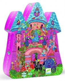 The Fairy Castle Puzzle by Djeco
