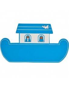 Blue Noah's Ark Plaque